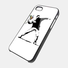 BANKSY BOY for iPhone 4/4s/5/5s/5c, Samsung Galaxy s3/s4 case