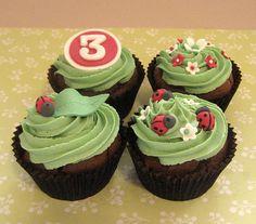 Ladybug Cupcakes - Bing Images