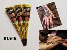 Vücut için 3pcs / lot 30g Kına Geçici dövme Hindistan dövme tüp Yapıştır Koni Vücut Sanatı boyama ürünleri (Çin (Anakara))