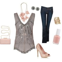 palest pink, created by rebeccamiller415.polyvore.com