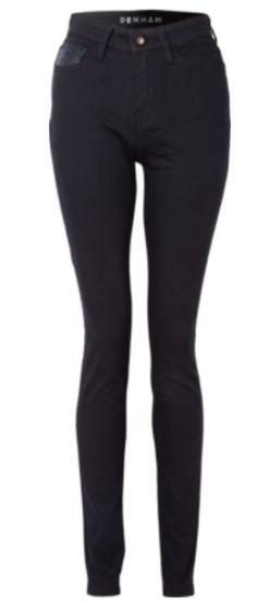 Black skinny tight jeans