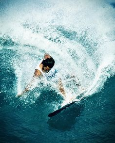 Surf by Kanaka Menehune on Flickr / wave / surfer / ocean / sport