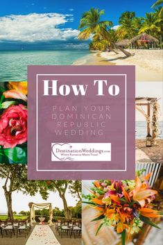 Planning a destination wedding takes just a little bit of planning and personalization. Read our mini-guide to getting married in the Dominican Republic. Winter Wedding Destinations, Destination Wedding Locations, Dominican Republic Wedding, Punta Cana Wedding, Grand Haven, Space Wedding, Most Beautiful Beaches, Wedding Events, Wedding Ideas