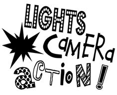 lights, camera, action classroom decoration | Party Decoration ...