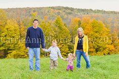 www.facebook.com/photosbycarrieann  Fall Family Photo
