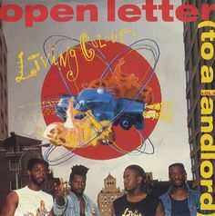 "For Sale - Living Colour Open Letter To A Landlord UK  7"" vinyl single (7 inch record) - See this and 250,000 other rare & vintage vinyl records, singles, LPs & CDs at http://eil.com"