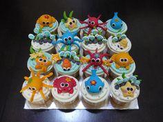 ocean cupcakes by induren on Flickr.