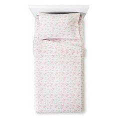 FOR RYRYS NEE BED  Unicorns Printed Cotton Sheet Set (Full) Pink 4pc - Pillowfort™ : Target