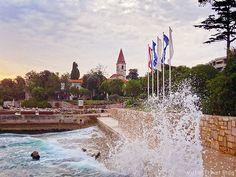 The Island of St. Andrew. The Adriatic Sea, Rovinj, Croatia.  http://victortravelblog.com/2014/08/04/rovinj-and-dubrovnik/