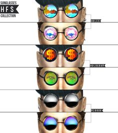 SUNGLASSES COLLECTION 01 at HAUT FASHION SIMS via Sims 4 Updates