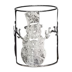 Snowman Scentsy Warmer Wrap -  Wrap your holiday décor with this jolly, happy soul and delight in the cheery pattern he casts on your Christmas season.