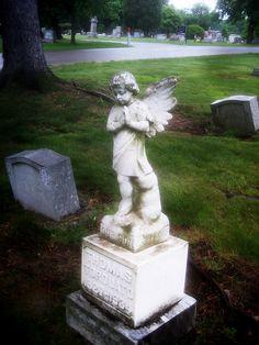Child Grave Stone Angel