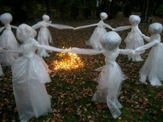 Halloween party decor, actually really cool!