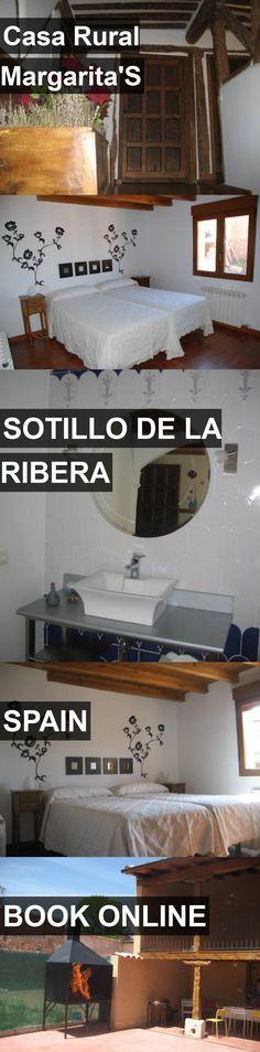 Hotel Casa Rural Margarita'S in Sotillo de la Ribera, Spain. For more information, photos, reviews and best prices please follow the link. #Spain #SotillodelaRibera #travel #vacation #hotel
