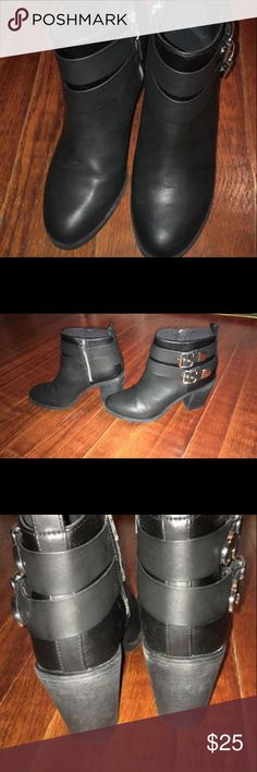 H&M Black Booties Great Condition just too big for me. H&M Shoes Ankle Boots & Booties