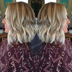 Brightened this girl upppp  #hairbykq #salonlaurent #maneaddicts #hairbrained #btcpics #stylistshopconnect #angelofcolour #braidsandbalyage #americansalon #901academy #modernsalon #hairdressmagic #ocstylist #ocsalon #irvine #costamesa #newportbeach #beverlyhills #orangecounty #hairstylist #ombre #sombre #colormelt #icyblonde #maneinterest #blondebob #lob