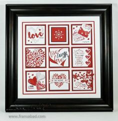 Live, Laugh, Love – it's almost Valentine Day! This sampler uses all kinds of hearts and stamps to create a keepsake for someone special of for YOU! Each square is the largest stitche… Valentines Gifts For Boyfriend, Valentines For Kids, Valentine Crafts, Valentine Day Cards, Valentine Nails, Valentine Ideas, Christmas Crafts, Valentine Poster, Valentine Picture