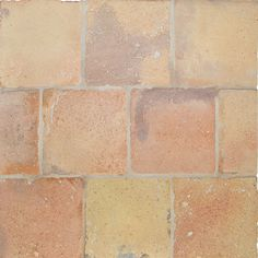 Reclaimed Natural Square Terracotta Tiles 6x6 from Reclaimed Terracotta Collection Terracotta Floor, Home Renovation, Tile Floor, Tiles, Flooring, Natural, Red, America, Country