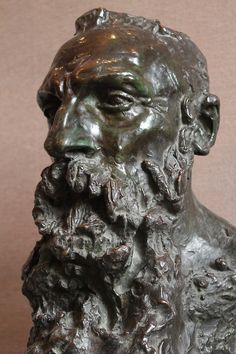 Bust of Rodin  by Camille Claudel, 1888 - www.camilleclaudel.asso.fr / www.musee-rodin.fr