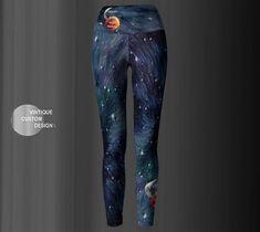7b782a2f564 Game of Thrones GALAXY ART LEGGINGS Women's Galaxy Yoga Leggings Purple  Galaxy Star Printed Leggings Glitter Galaxy Pants Womens Clothing