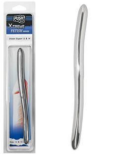 Push Xtreme Fetish - 20cm Edelstahl Dilator Expert 13mm & 14mm breit