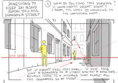 Enjoy a series of Drawing Tips by Thomas Romain on backgrounds, buildings, interiors & more. Thomas Romain is a French animator who is responsible for Drawing Techniques, Drawing Tips, Drawing Reference, Drawing Lessons, Design Reference, Drawing Ideas, Thomas Romain, Space Dandy, Building Drawing