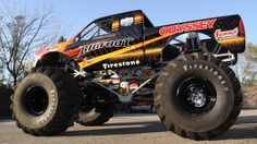 """In recent years, many monster truck competitions have ended with a """"freestyle"""" event. Somewhat akin to dressage with giant trucks, drivers are free to select their own course around the track and its obstacles. Drivers will often try """"donuts"""", wheelstands and jumps during this segment. Additional items for the drivers to crush, usually including a motor home, are frequently placed on the track specifically for the freestyle event. Other obstacles sometimes placed on the track include school…"""