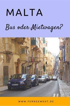 Bus oder Mietwagen - welches Fortbewegungsmittel ist für Malta und Gozo besser geeignet?