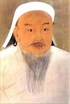 http://www.britannica.com/EBchecked/topic/229093/Genghis-Khan  Genghis Khan was named Temujin. He became a mongol ruler. He unified Mongolia and then extended his empire across Asia to the Adriatic sea. He was a warrior and ruler. He brought all the nomadic tribes of mongolia under the rule of himself and family. The mongol Empire became the largest contiguous empire in history after his demise.