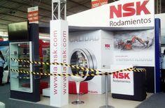 Cliente: NSK Rodamientos. Un diseño pequeño pero compacto para un gran cliente.