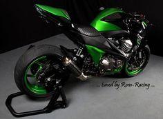 Rom-Racing - Kawasaki Z800 (2013-2014) Yamaha Motocross, Suzuki Motorcycle, Motorcycle Gear, Kawasaki Motorbikes, Kawasaki Motorcycles, Cars And Motorcycles, Z 800, Custom Sport Bikes, Ride Out