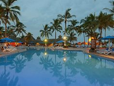 Grand Occidental Nuevo Vallarta evening pool scene #Pin2Win [Promotional Pin]