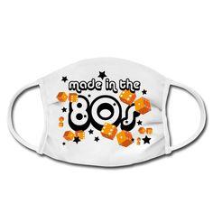 Für Leute die die 80er jahre weiterleben lassen möchten und in dieser Zeit geboren sind. Shirt Designs, Orange, Shirts, Mugs, How To Make, Character, Protective Mask, Tumblers, Mug