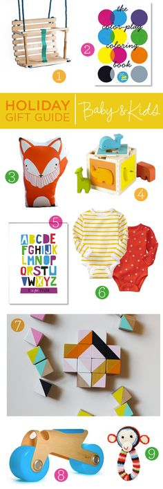 holiday gift guide : baby & kids