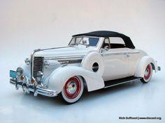 1938 Buick Century Convertible Diecast Model   Legacy Motors