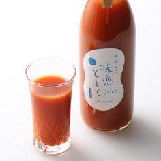 高糖度で酸味とのバランスが絶妙な味恋とまと。その味恋とまとの美味しい時期に収穫されたトマトだけを原料とし、無添加で仕上げました。小さなお子様やトマトジュース好きな方、ワンランクアップしたお料理を目指す方など幅広くご満足いただけるトマトジュースです。