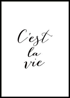 Poster with French text, quote in black and white.- Plakat mit französischem Text, quote in Schwarz-Weiß. Poster with French text, quote in black and white. Text Quotes, Words Quotes, Life Quotes, Sayings, Black & White Quotes, Black And White Posters, Black And White Prints, Framed Quotes, Quotes In Frames