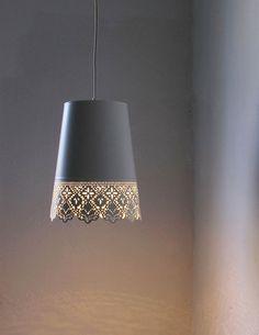 #lace #lamp