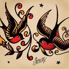 Sailor jerry swallows