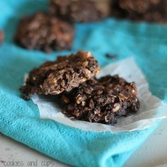 Image for No Bake Peanut Butter Cup Granola Cookies
