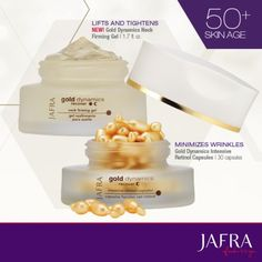 Target specific Skin Care needs with Gold Dynamics. http://jafra.me/fh4