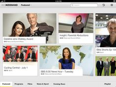 iPad Screenshot 1 News Hour, Video Page, User Experience, Ux Design, Itunes, Insight, Ipad, Parenting, Childcare