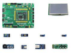 >> Click to Buy << 4.3inch LCD+ Ethernet +speaker+ ARM LPC4357 LPC43 Cortex M4/M0 dual core Development Board = Open4357-C Package A #Affiliate
