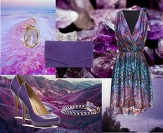 """""""The beauty of the mountain of amethyst"""" by mari335 ❤ liked on Polyvore"""