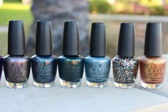 lov3ology:  OPI Holiday 2012: Skyfall Collection