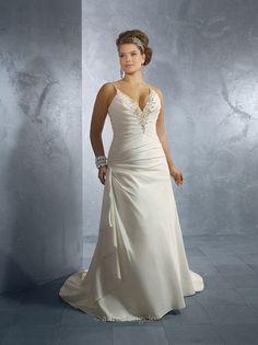 689b736e7 vestidos de talla grande Vestidos De Novia Hermosos