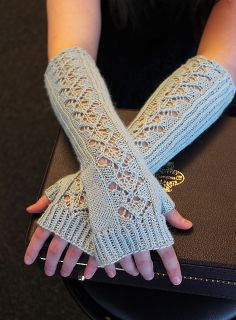 Ravelry: Cadenza Mitts pattern by Merri Fromm