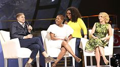 Oprah's time on the Life You Want Tour has shown her the importance of taking care of yourself.