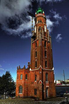 Lighthouse Bremerhaven . Germany