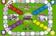 Ideia Criativa - Gi Barbosa Educação Infantil: Jogo de Tabuleiro Higiene Bucal